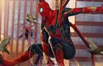 Iron Spider by SaifuddinDayana