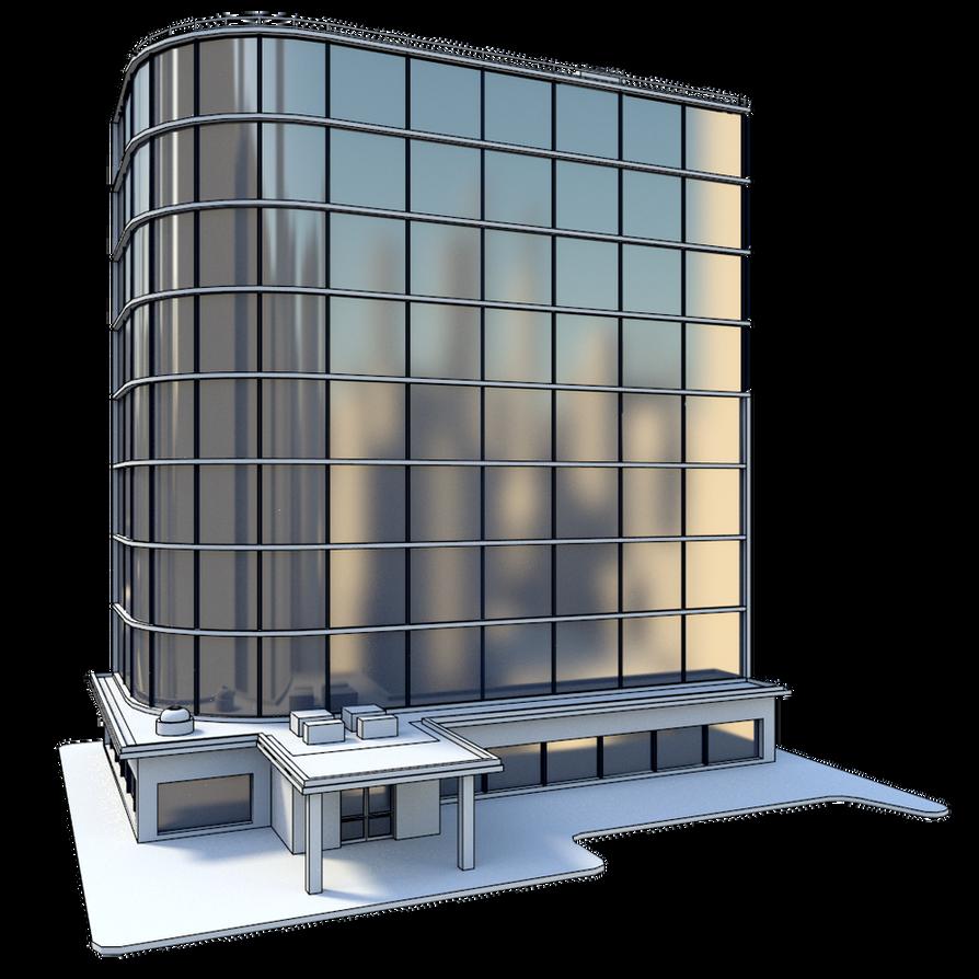 Manga Render Test - Building #1 by MatchSignal3D on DeviantArt