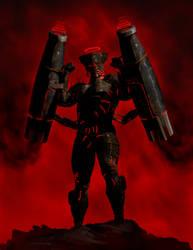 Holy Guardian : Demon Displacer by weroidiota