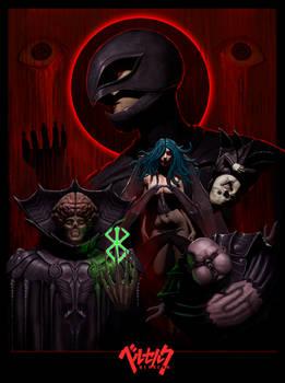 God hand Berserk poster