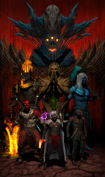 DnD party poster
