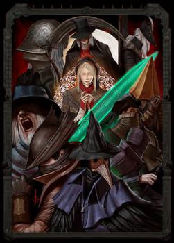 Bloodborne tribute poster