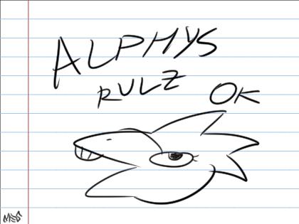 alphys rulz ok