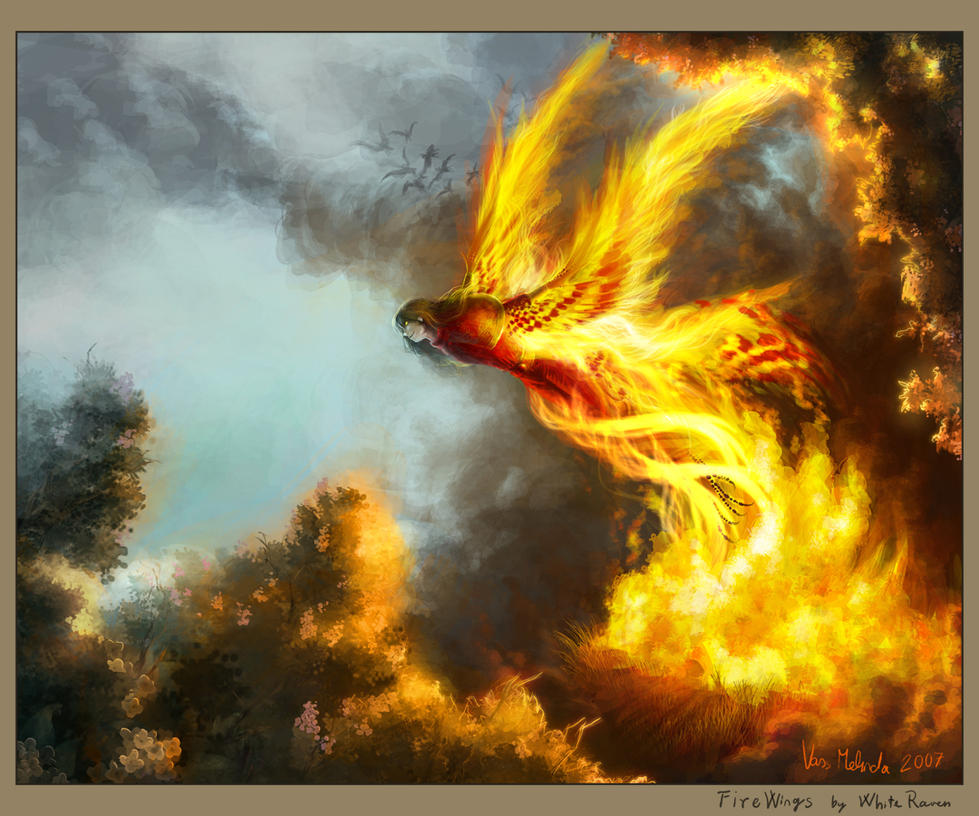 FireWings by WhiteRaven90