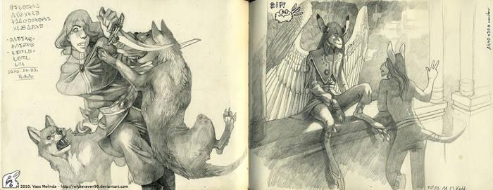 Sketchbook pages 3