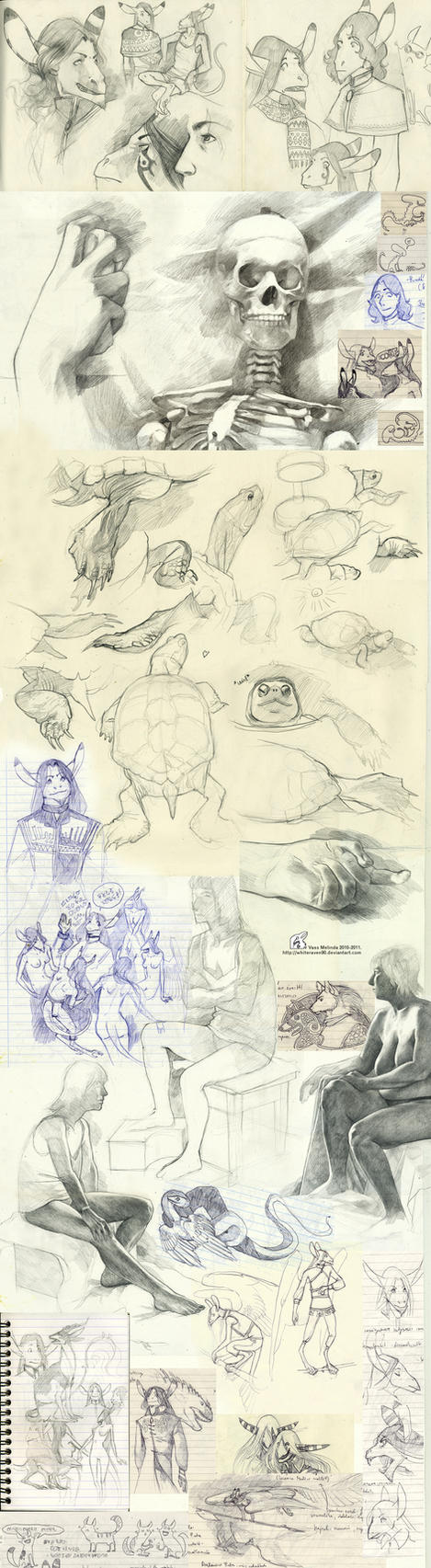 Hi. I am a sketchdump. by WhiteRaven90