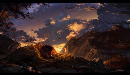 Autumn Nights by WhiteRaven90