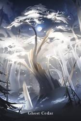 I. Ghost Cedar by WhiteRaven90