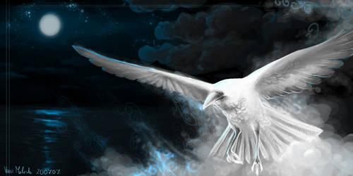 The White Raven by WhiteRaven90