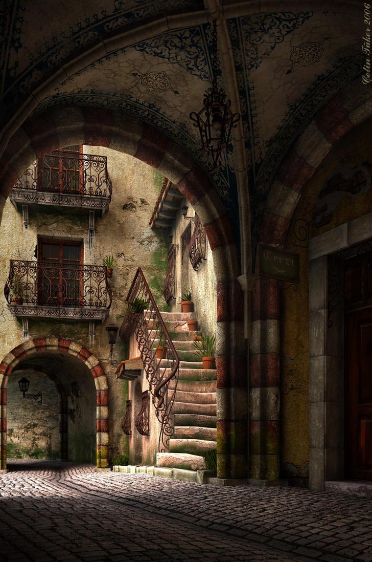 Vaulted Street by cetintuker