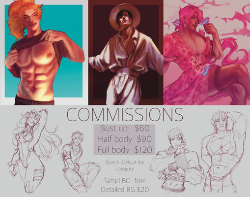 Commissions info[open]