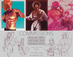 Commissions info[open] by lomomlet