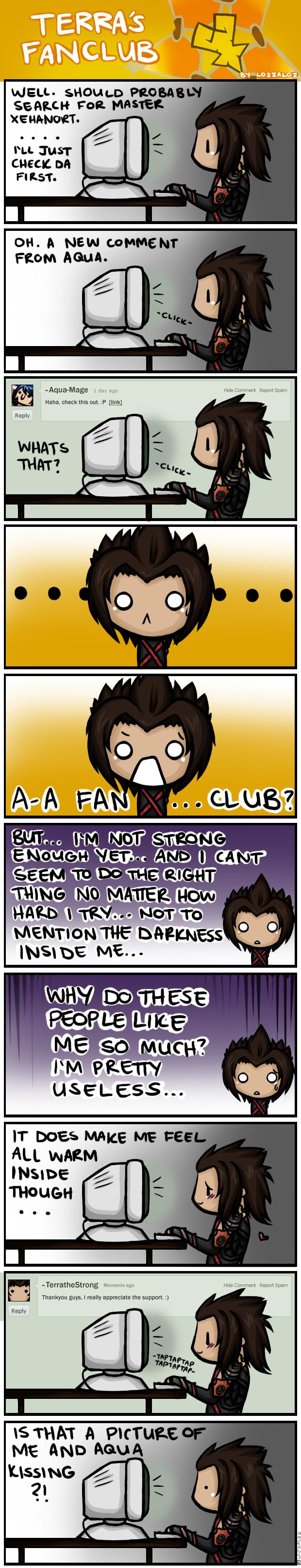 Terra's Fanclub by Lozzaloz