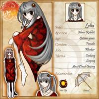Voleros-Saga - Lelia by Lozzaloz