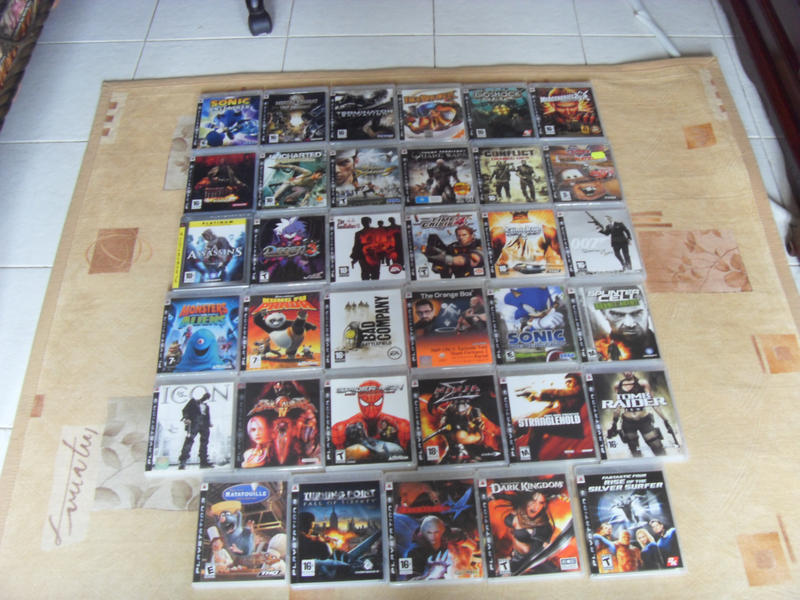 All Games For Ps3 : All ps video games by gexon on deviantart