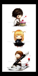 .Squishies: Deathnote. by Tirael