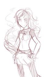 Quick Maiko sketch