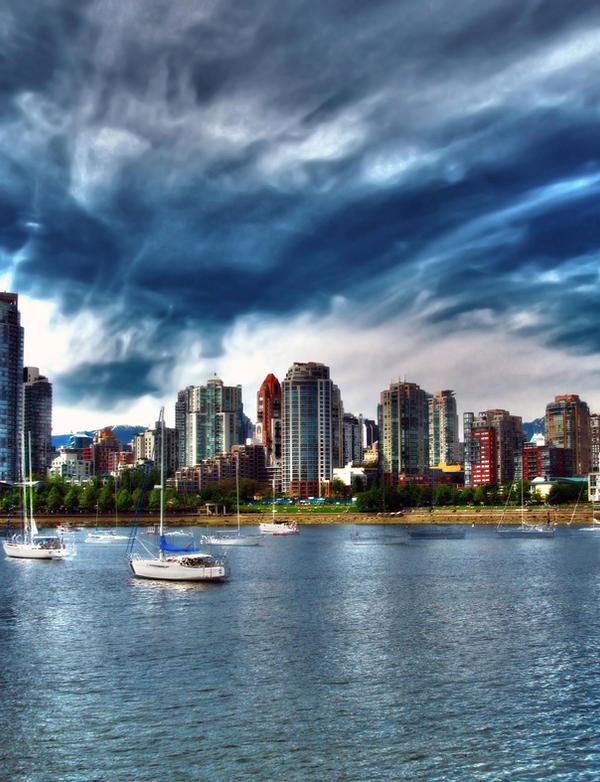 False Creek, Vancouver, BC HDR by DTherien