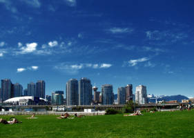 Vancouver, BC Skyline by DTherien