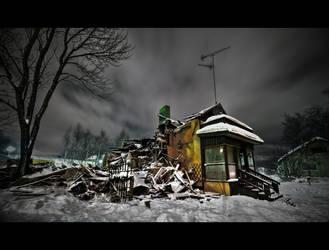 Burned House HDR workshop for PostProcessing by DTherien