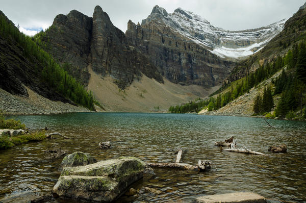 Lake Agnes by DTherien