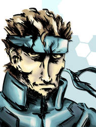 Solid Snake by kairuh