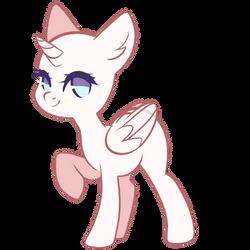 F2U Pony Base by pierunie