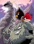 Angry Birds VS. Rock Pokemon