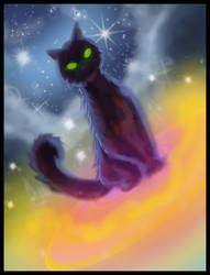 Magical Cat by SemajZ