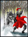 The wolf's are Coming: Coloured