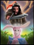 Epic Rap battles: Gangis Kahn Vs. Easter Bunny