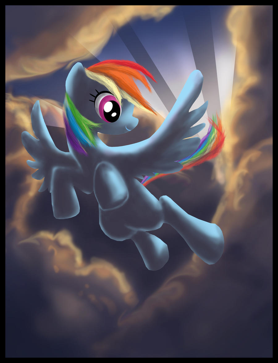 MLP: Rainbow Dash by SemajZ