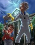 ERB Fan Art: Doc Brown Vs Doctor Who