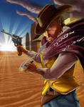 ERB: Clint Eastwood fan art