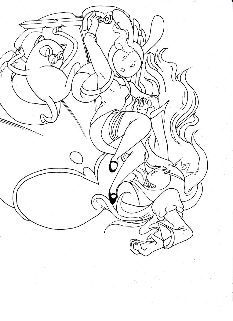 fiona adventure time coloring pages - photo#21