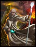 Epic Rap Battles of history Gandalf