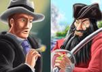 WIP: ERB Blackbeard Vs Al Capone