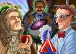 ERB: Sir Isaac Mewton Vs Bill Nye the science guy