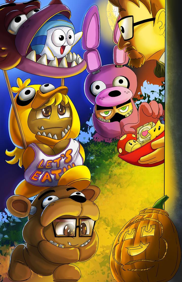 Gaijin Goombah Halloween art by SemajZ