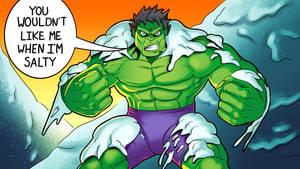 Salty hulk by SemajZ