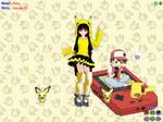 MMD Pikachu Gurl