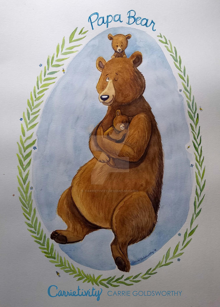 Papa Bear by Carrietivity