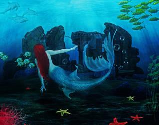 Little Mermaid - Secrets of the Sea by leosari