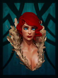 The Red Beauty by Fch3ck