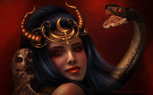 Lilith. Wallpaper by DonatellaDrago