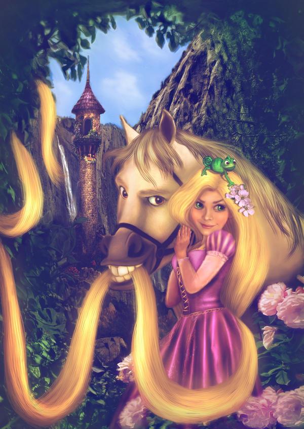 rapunzel by donatelladrago d37dmqx - Masals� PrensesLer ~