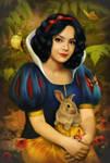 Snow White. by DonatellaDrago