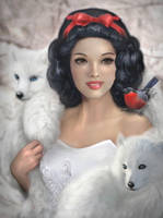 SNOW WHITE by DonatellaDrago