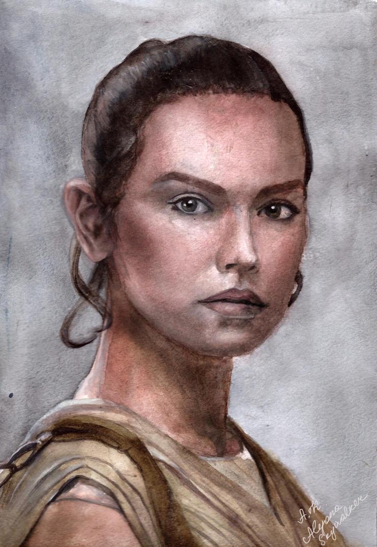 Rey. by AlyonaSkywalker