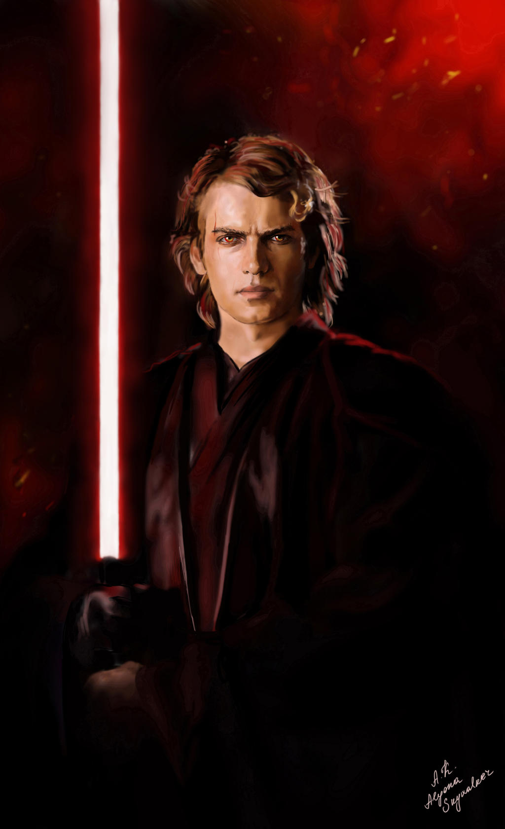 Anakin. Dark Side by AlyonaSkywalker